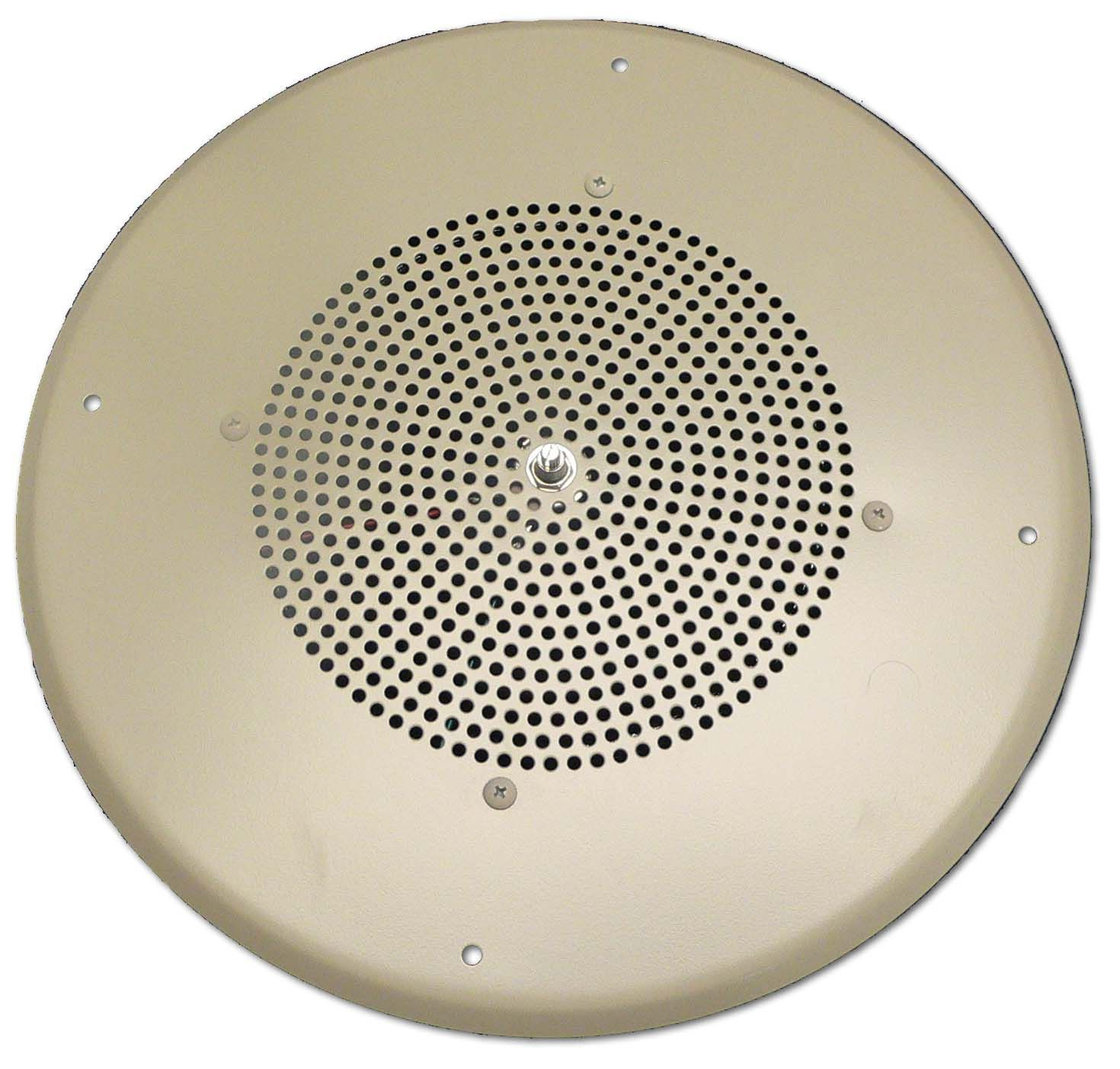 Buy 8 In Ceiling Speaker Off White At Harvey Haley For Only 8372 Speakers Wiring 1w Single Tap Design Screw Terminal