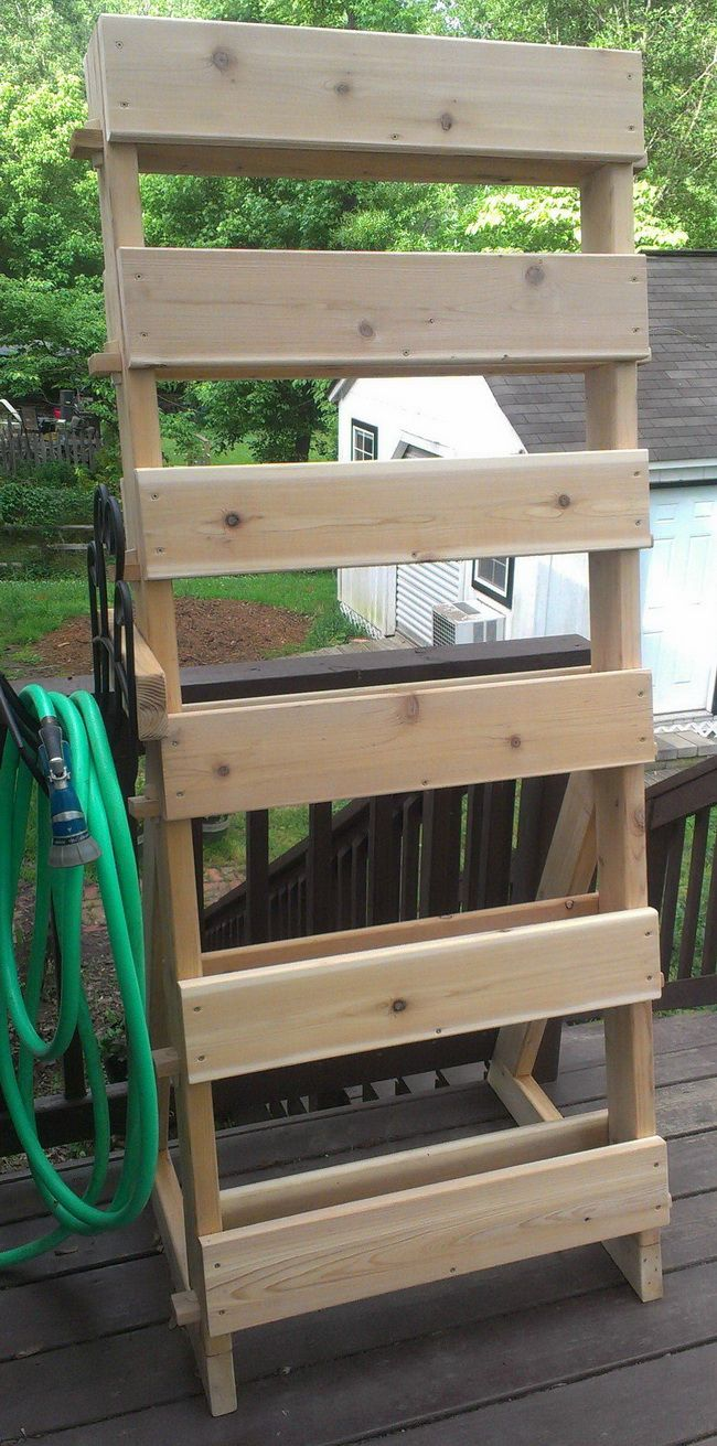How to build a custom herb garden tower