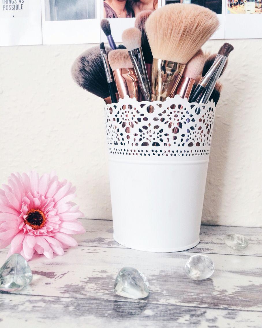 I love my brush pot Beauty storage, Blogging inspiration