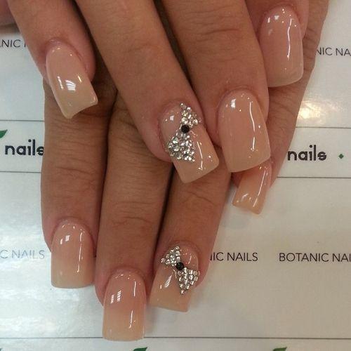 50+ Cute Bow Nail Designs | Style 2014, Stylish nails and Nail nail