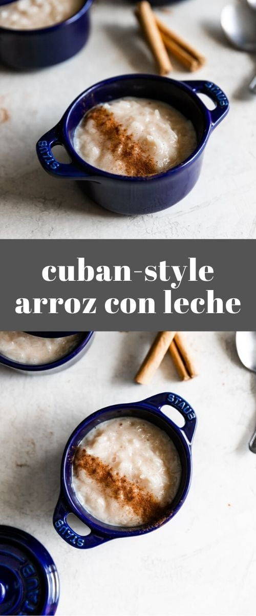 Cuban-Style Arroz Con Leche (Rice Pudding)