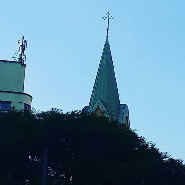 A cruz de Cristo.