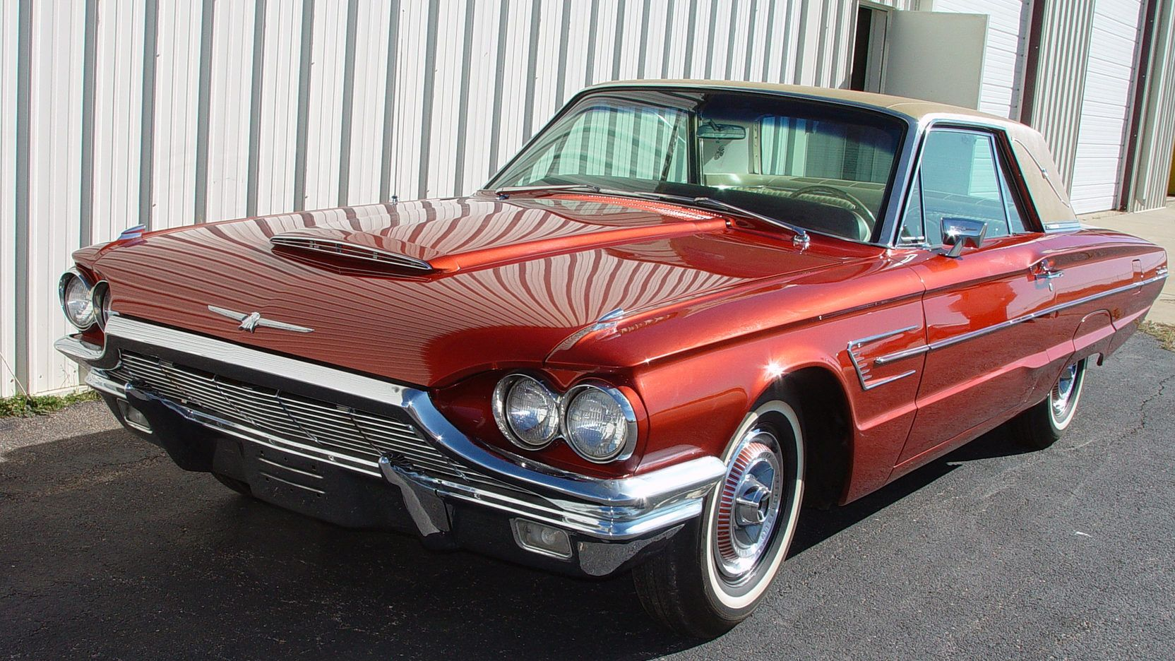 Example of patrician green paint on a 1964 ford thunderbird 1957 ranchero pinterest ford thunderbird ford and wheels