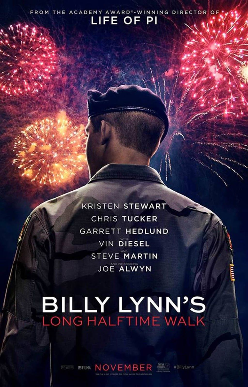 Billy Lynn's Long Halftime Walk Poster & Trailer