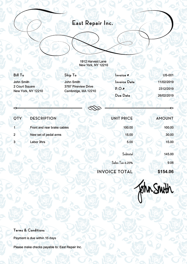 Invoicing Made Easy For Small Businesses And Entrepreneurs Invoice Template Invoice Design Template Invoice Design