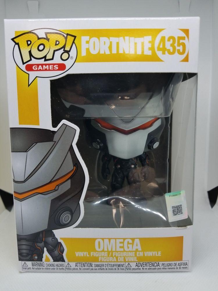 Funko Pop Vinyl Fortnite Omega Figure Kids Toy Game Children Toys