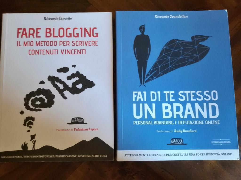 Se hai Fare blogging, non puoi non avere Fai di te stesso un brand... #blogging #personalbranding