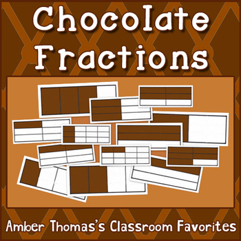 Chocolate Fractions: Equivalent Fractions Activity | Equivalent ...