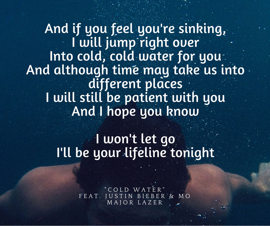 Cold Water ft. Justin Bieber