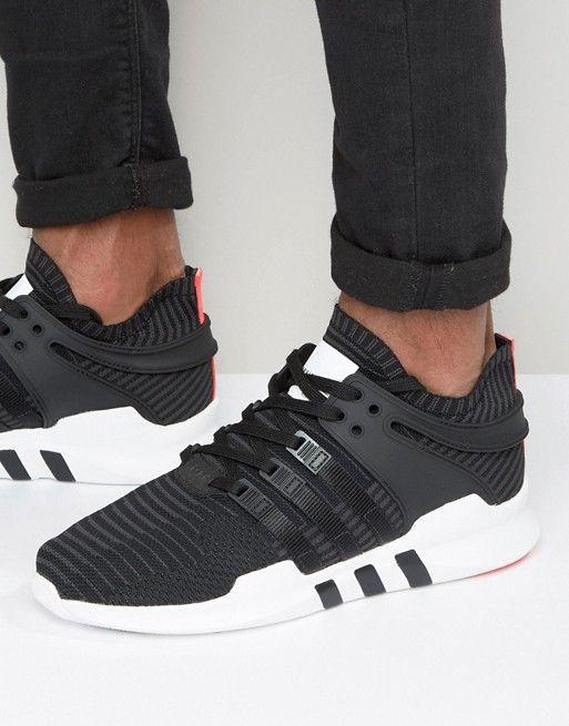 2dbe2a4e3bf68 adidas Originals EQT Support Advance Sneakers In Black BB1260 Adidas  Originals Mens