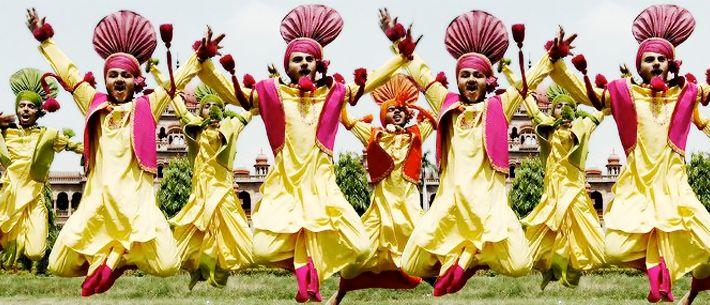 BHANGRA refers to the traditional dance originating in the Majha area of  the #Punjab region. Bhangra dance is based on … | Punjab festivals,  Bhangra, Bhangra dance