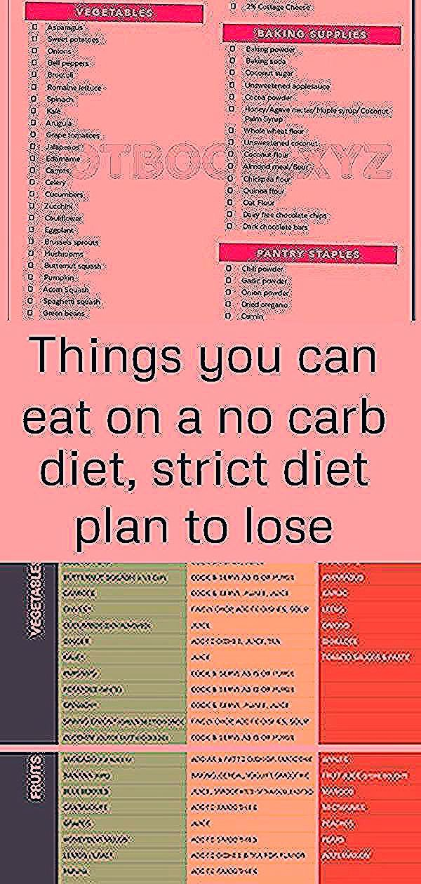 Things you can eat on a no carb diet strict diet plan to lose weight fast full meal plan to