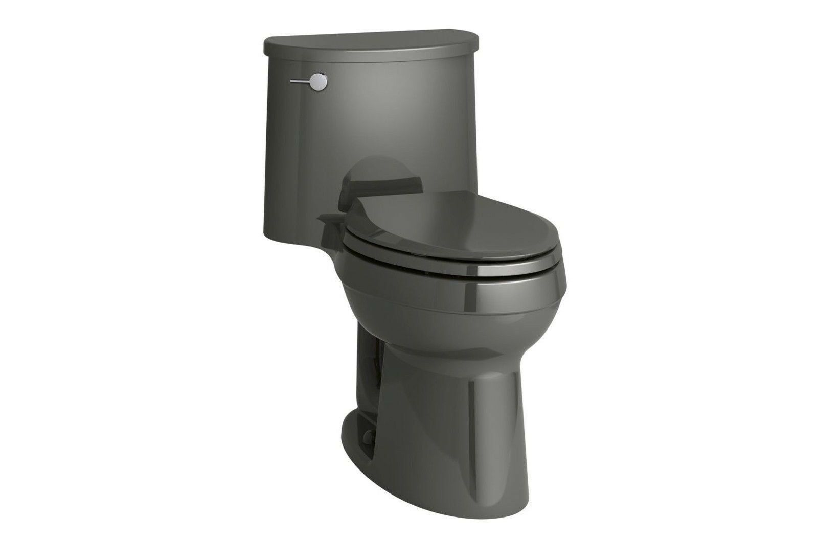 Kohler K 6925 0 Adair One Piece Elongated 1 28 Gpf Thunder Gray Toilet Toilets Ideas Of Toilets Toilets Grey Toilet Kohler