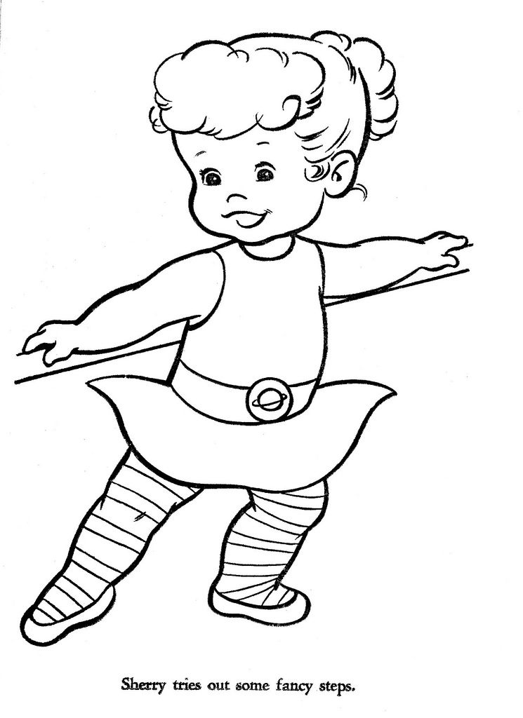 Hi Flyer Color Pg 17 Coloring Books Coloring Pages Ballerina Coloring Pages