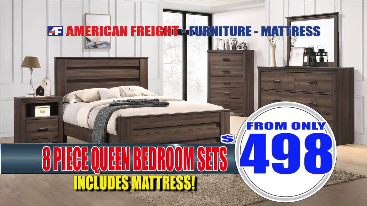 VIDEO American Freight Furniture January Warehouse