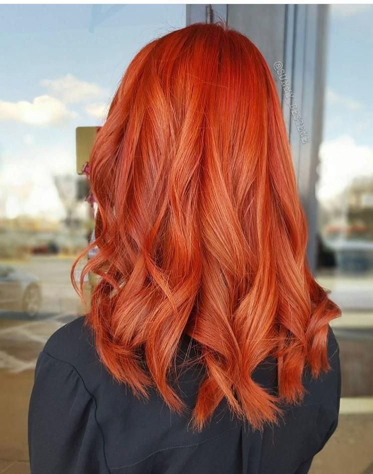 Red Inferno Formula Hair Color Salons Hair Coloring And Red Hair