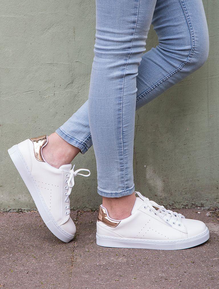 Spor Ayakkabi Gabby Beyaz Rose Gold Kombin Spor Ayakkabi Adidas Ayakkabi Ayakkabilar Topuklular