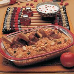 Saudi Rice With Meat Meat Zurbian Food Recipes Arabic Food