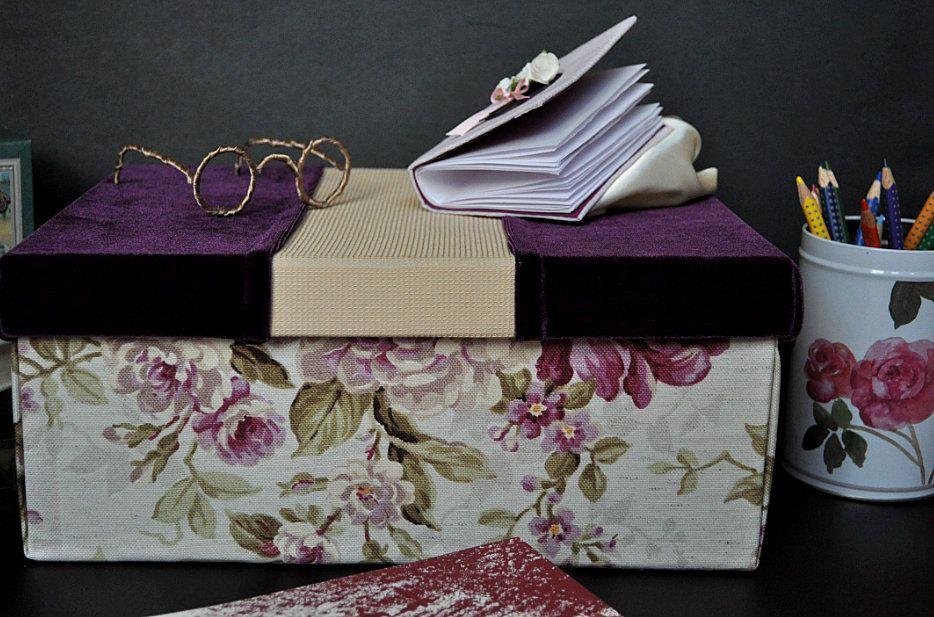caja hecha a mano para hacer un regalo original te gusta