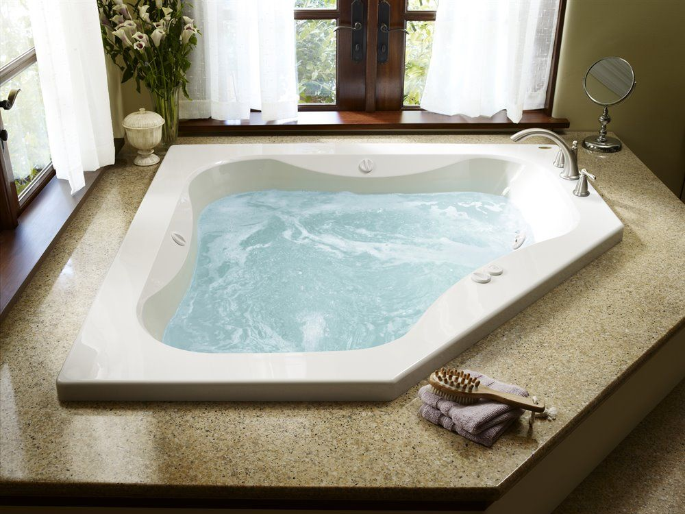 Shop JACUZZI 60-in x 60-in Primo 2-Person White Acrylic Rectangular ...