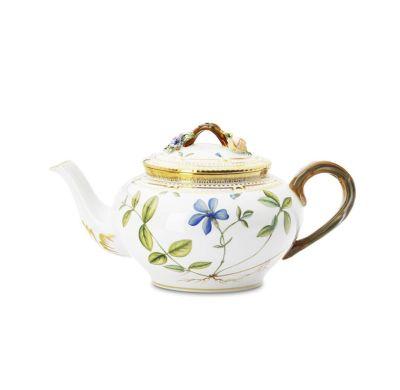 Royal Copenhagen - Flora Danica Teapot.  Worth thousands and thousands of dollars.