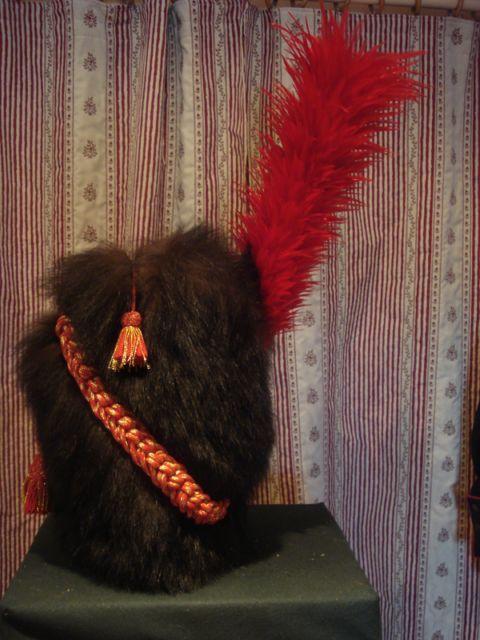bonnet poils de sapeur des grenadiers pieds de la. Black Bedroom Furniture Sets. Home Design Ideas