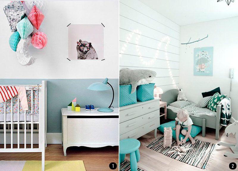 Ideas para decorar la habitación de tu bebé: habitaciones tranquilas ...