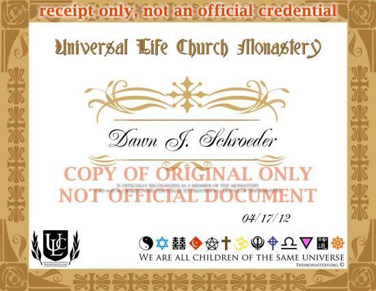 Free Online Minister Ordination Get Ordained Universal Life Church Universal Life Church Body Mind Spirit Ordination