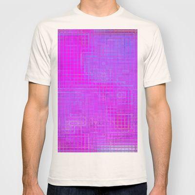 Re-Created Matrix No. 3 #T-shirt by #Robert #S. #Lee - $22.00