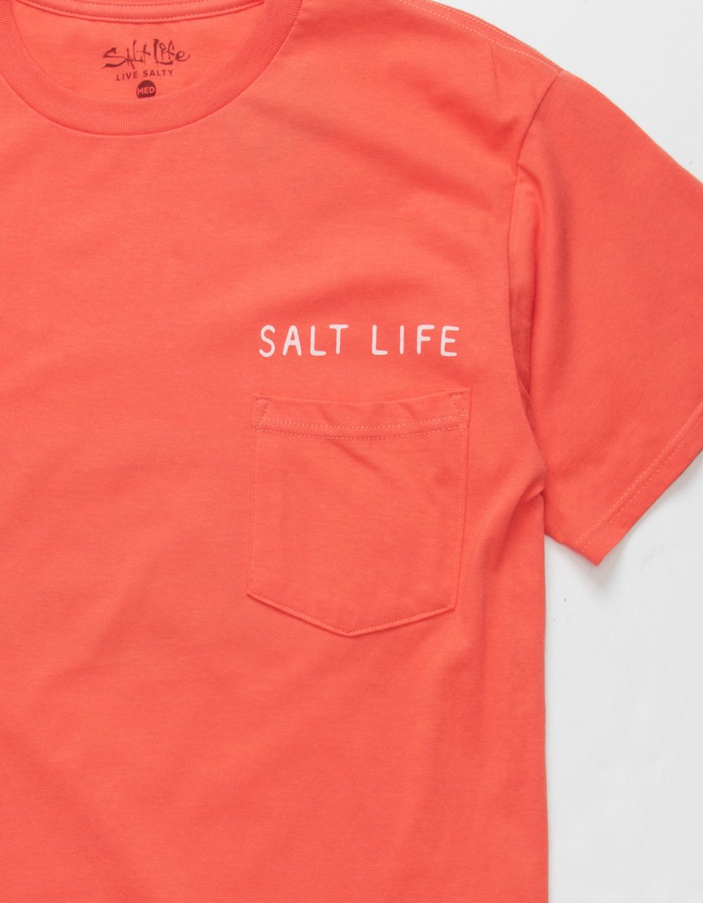 SALT LIFE Fish Tropics Circle Pocket Tee