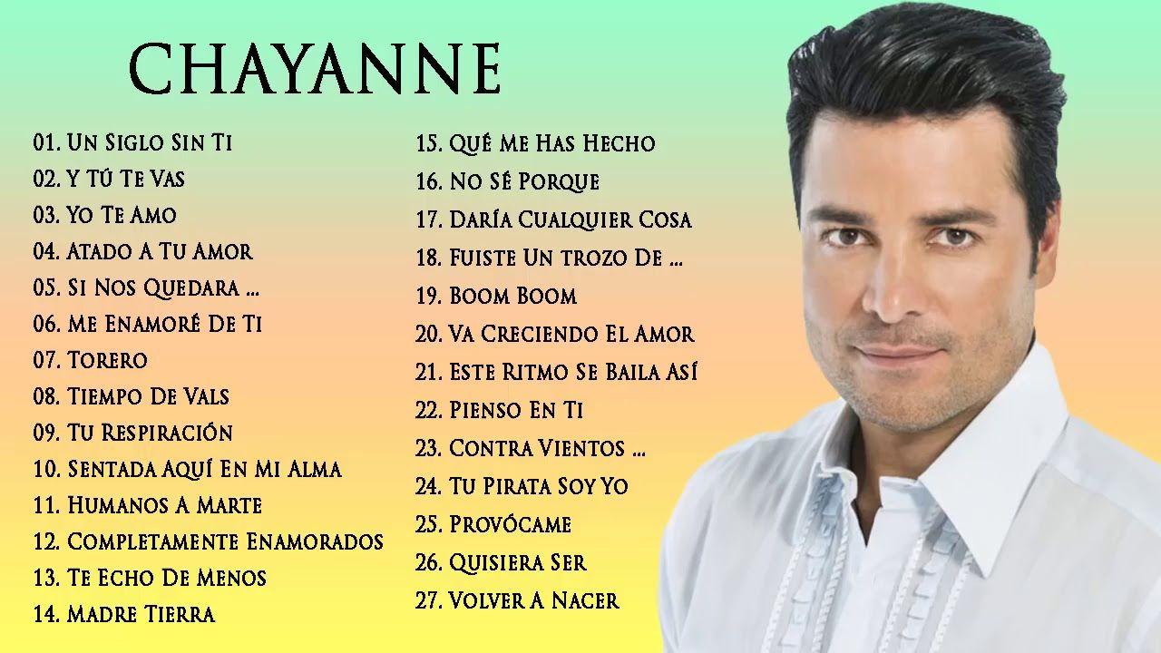 Chayanne éxitos Sus Mejores Romanticás Música Chayanne 40 Canciones Ba Chayanne Musica Romantica Canciones De Chayanne