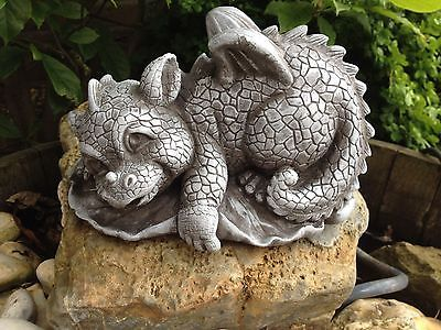 steinfiguren drache fantasiefigur garten deko steinguss, Garten ideen