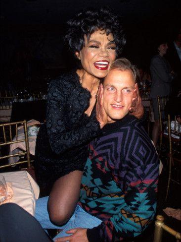 Singer Eartha Kitt and Actor Woody Harrelson Photographic ...