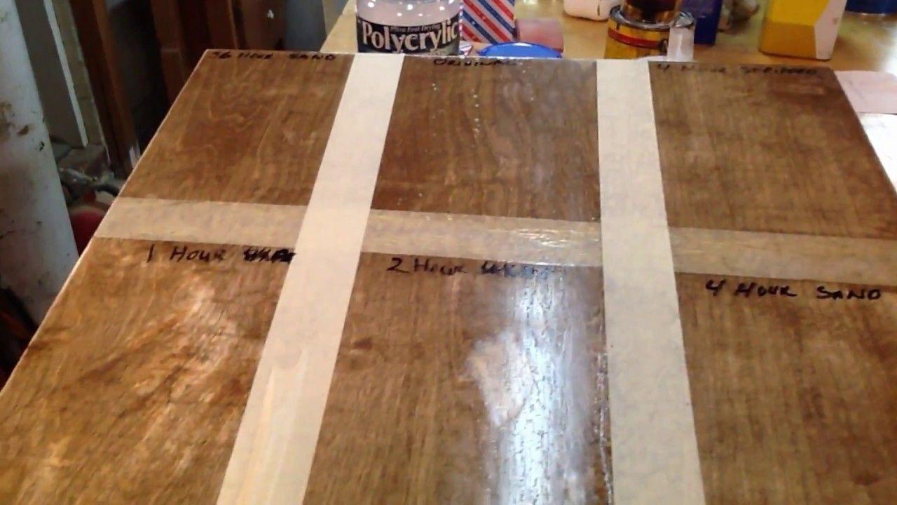 Fixing Polyurethane Bubbles Puddles Runs And Brush Marks Youtube Staining Wood Staining Hardwood Floors Refinishing Hardwood Floors