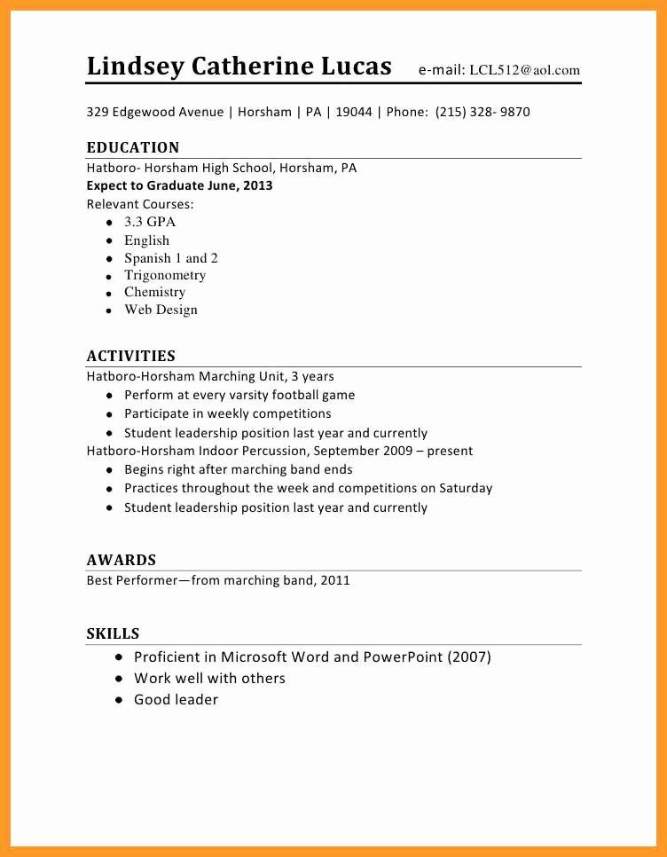 First Job Resume Template Lovely 12 13 Resume Sample For First Time Job Seeker Student Resume Template First Job Resume Job Resume Examples