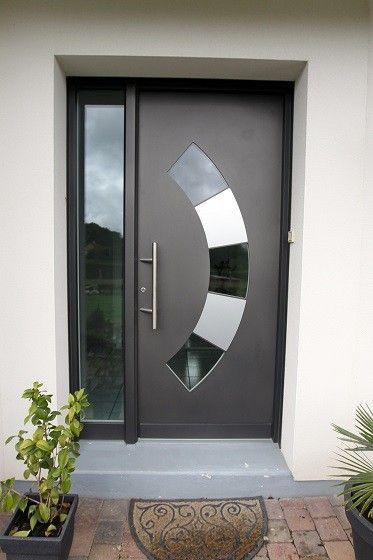 Porte D Entree En Aluminium Diruy Design De Porte Moderne Porte Entree Aluminium Entree Moderne