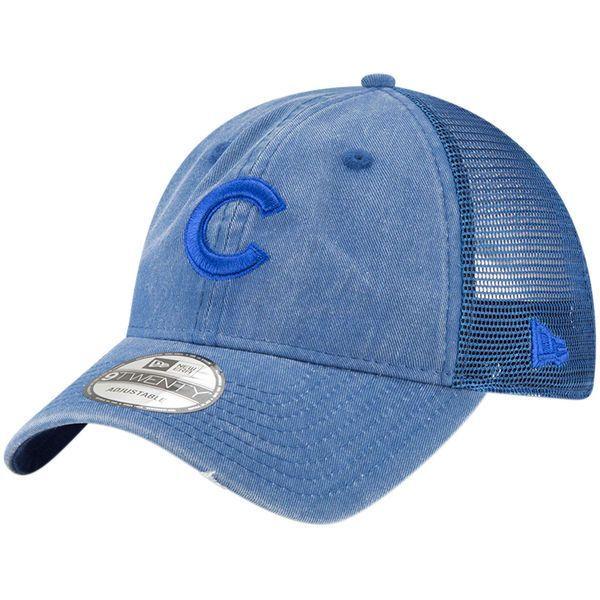 ab7c667ede9 Chicago Cubs New Era Tonal Washed 9TWENTY Adjustable Hat – Royal ...
