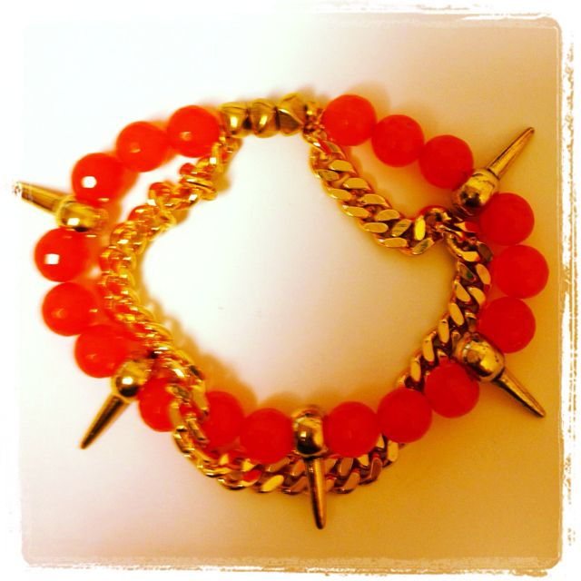 Rooty spike and chain  - click picture to purchase! - $22