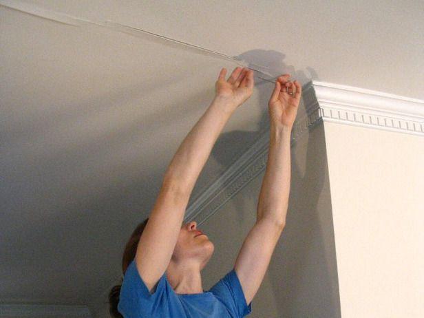 Fixing ceiling cracks