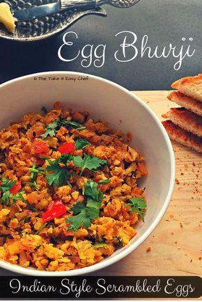 Egg bhurji scrambled eggs indian style recipe egg indian food forumfinder Choice Image