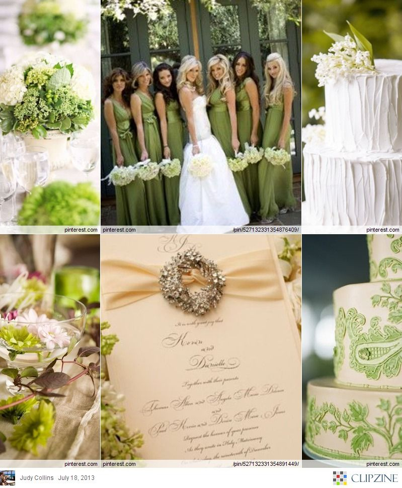Garden Green Wedding Mint Pastel Reception Ideas For