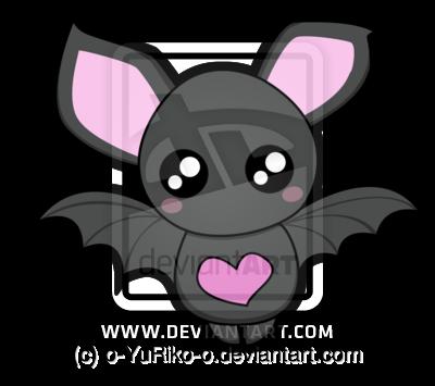 cute bats | Cute bat by o-YuRiko-o | Owls and bats ...