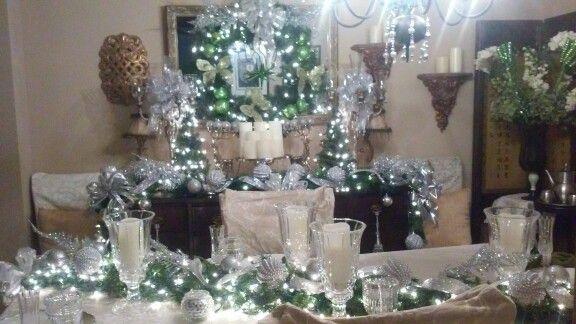 Dinning room Christmas 2014