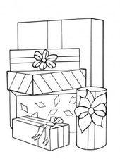 weihnachtsgeschenke ausmalbilder in 2020 | weihnachtsmalvorlagen, malvorlagen für kinder