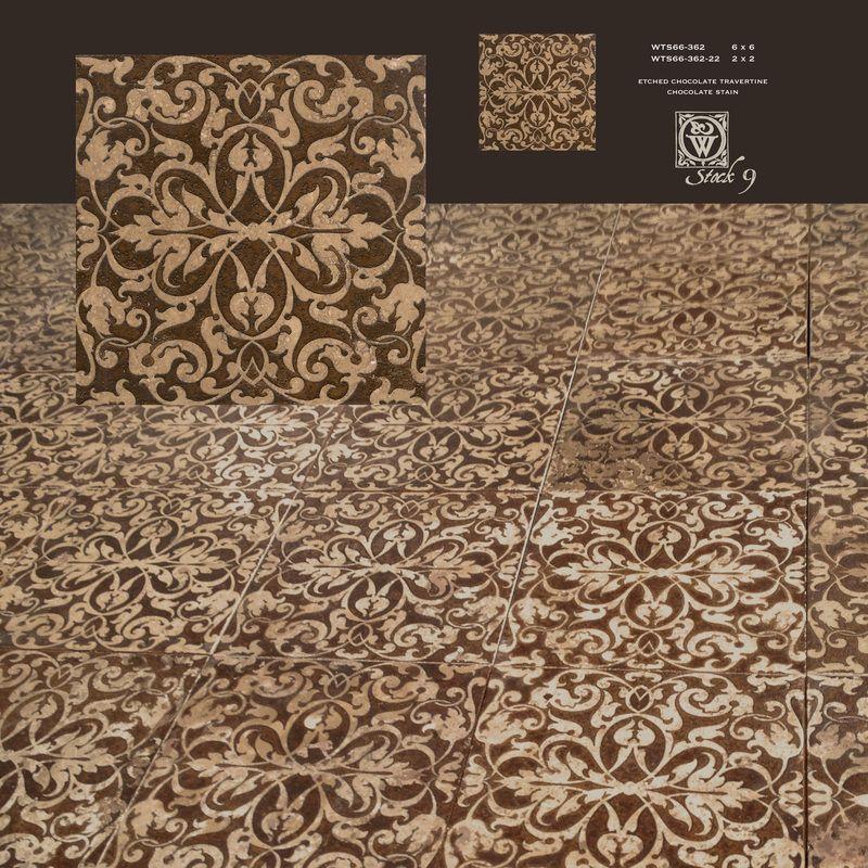 Decorative Tiles Classy Decorative Etched Stone Tiles  Backsplash Dot Insert Wainscot Inspiration Design