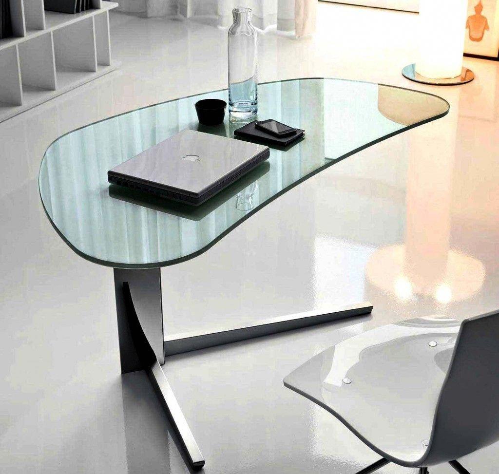 Eckschreibtisch glas  Glas Tischplatte für computer Schreibtisch, ashley furniture home ...