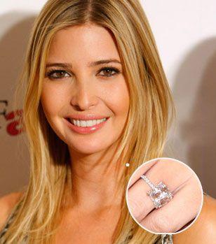 Ivanka Trump Engagement Ring