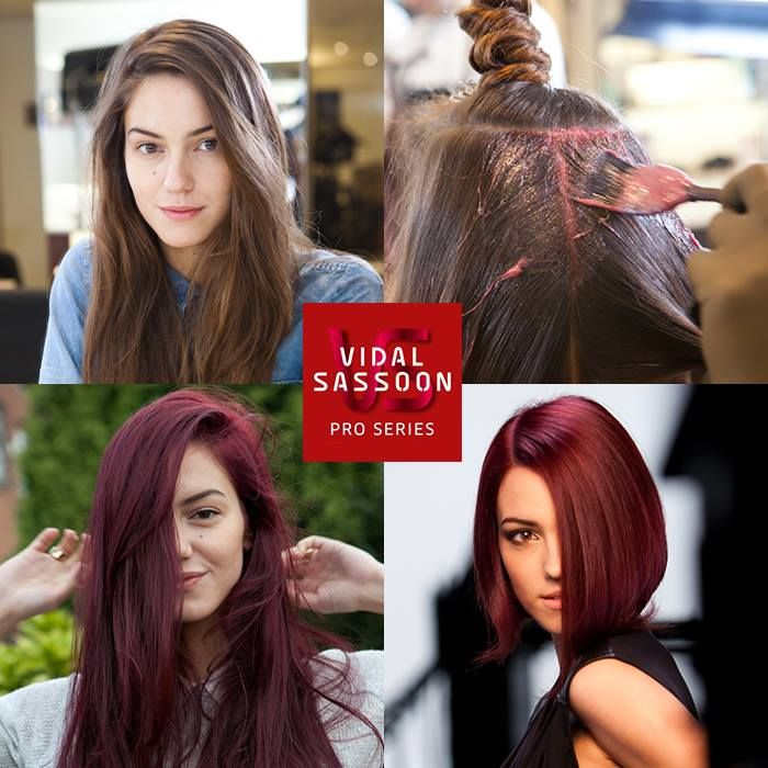 Hairstyle Inspiration Bangs Red Hair Color Hot Color Used
