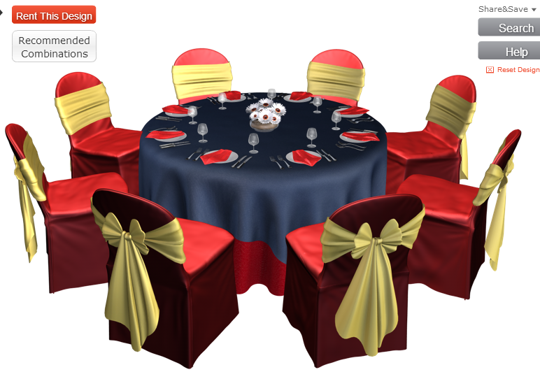 Possible Table Arrangement Marine Corps Wedding