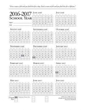 Homeschool Printables  Downloads School calendar, Homeschool and - sample school calendar